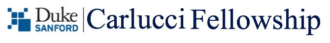 Carlucci Fellowship Logo